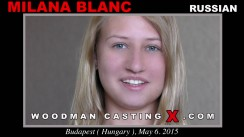 Casting of MILANA BLANC video