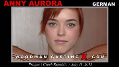 Casting of ANNY AURORA video