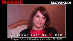 Casting of MAGGIE video