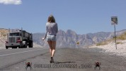 Kinsley Eden - XXXX - Sexy hitcher in desert