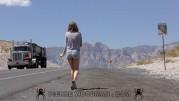 Kinsley Eden - XXXX - Sexy hitcher in desert