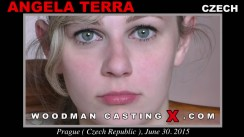 Casting of ANGELA TERRA video