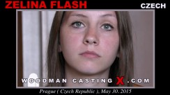 Casting of ZELINA FLASH video