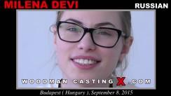 Casting of MILENA DEVI video
