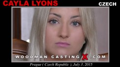 Casting of CAYLA LYONS video