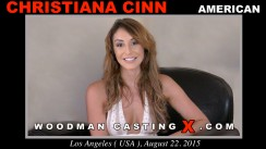 Casting of CHRISTIANA CINN video