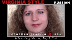 Casting of VIRGINIA STYLE video
