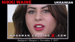 Casting of NIKKI WAINE video