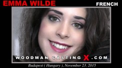 Casting of EMMA WILDE video