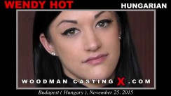 Casting of WENDY HOT video