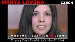 Casting of MARTA LOVSKA video