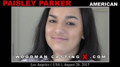 Casting of PAISLEY PARKER video