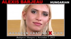 Casting of ALEXIS BARJEAU video