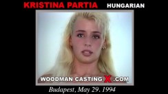 Casting of KRISTINA PARTIA video
