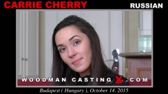 Casting of CARRIE CHERRY video