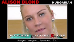 Casting of ALISON BLOND video