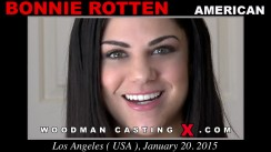 Casting of BONNIE ROTTEN video