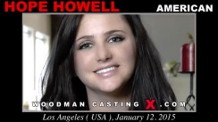 Casting of HOPE HOWELL video