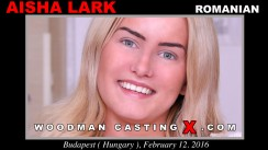 Casting of AICHA LARK video