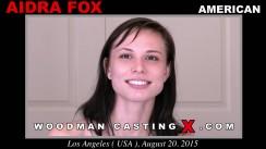 Casting of AIDRA FOX video