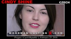 Casting of CINDY SHINE video