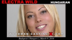 Casting of ELECTRA WILD video