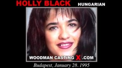 Casting of HOLLY BLACK video