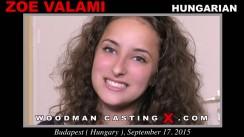 Casting of ZOE VALAMI video