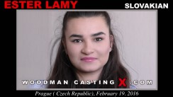 Casting of ESTER LAMY video