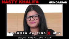 Casting of NASTY KHALIFA video