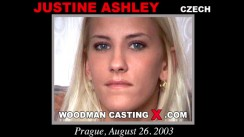 Casting of JUSTINE ASHLEY video