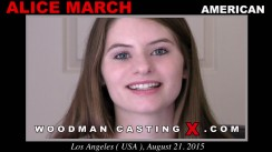 Casting of ALICE MARCH video