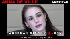 Casting of ANNA DE VILLE video
