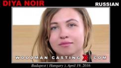 Casting of DIYA NOIR video