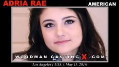 Casting of ADRIA RAE video