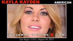 Casting of KAYLA KAYDEN video