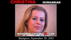 Casting of CHRISTINA video
