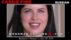 Casting of CASSIE FIRE video