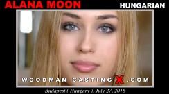 Casting of ALANA MOON video