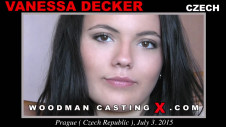 Sex Castings Vanessa decker