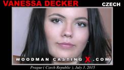 Casting of VANESSA DECKER video