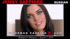 Casting of JENNY SAPPHIRE video