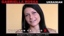 Sex Castings Gabriella rossa