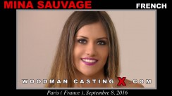Casting of MINA SAUVAGE video