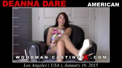 Casting of DEANNA DARE video