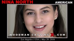 Casting of NINA NORTH video