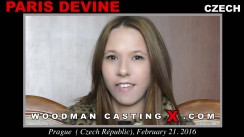 Casting of PARIS DEVINE video