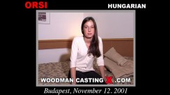 Casting of ORSI video