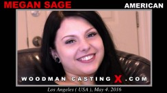 Casting of MEGAN SAGE video