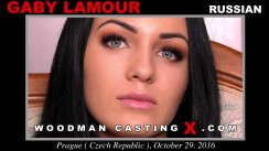Casting of GABY LAMOUR video